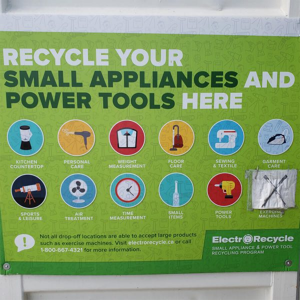 Appliances and Small Tools Recycling